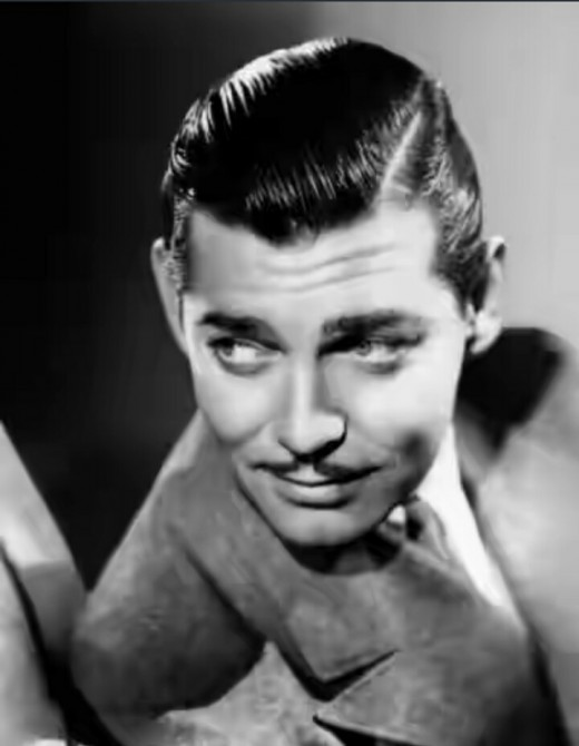 Clark Gable's magnetic smile!