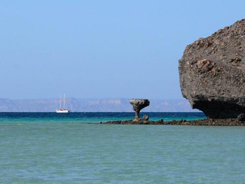 Mushroom Rock holds details of a Gringo's anguish.