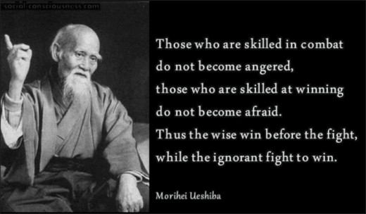 "Morihei Ueshiba was a martial artist and founder of the Japanese martial art of Aikido. He is often referred to as ""the founder"" Kaiso or Ōsensei, ""Great Teacher""."