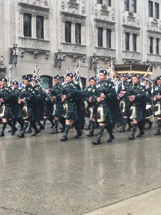 The Tartan Parade