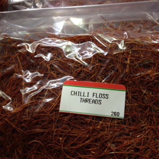 Cooking is said to be a way to a Man's Heart. Certainly, there have been untold cooking shows on TV. Perhaps a cooking show is not a way to anyone's heart? This Chilli floss is a Garnish for Dish perfection. PERFECT!