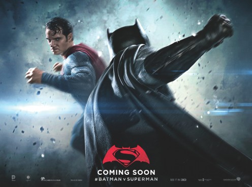 Superman vs Batman film with Henry Caville as Superman and Ben Affleck as Batman