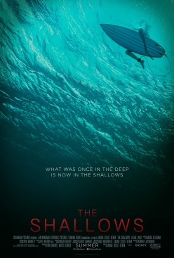 The Shallows isn't the place you want to be, unless it is to view it in the safety of a movie theater