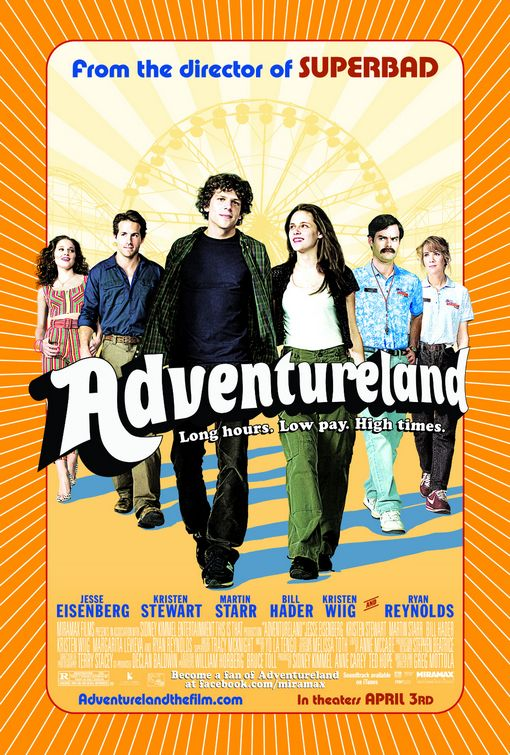 Adventureland (Sundance) Movie Poster