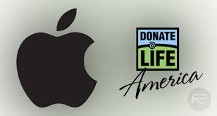 Apple is partnering with Donate Life America to make it easier for people to become organ donors.