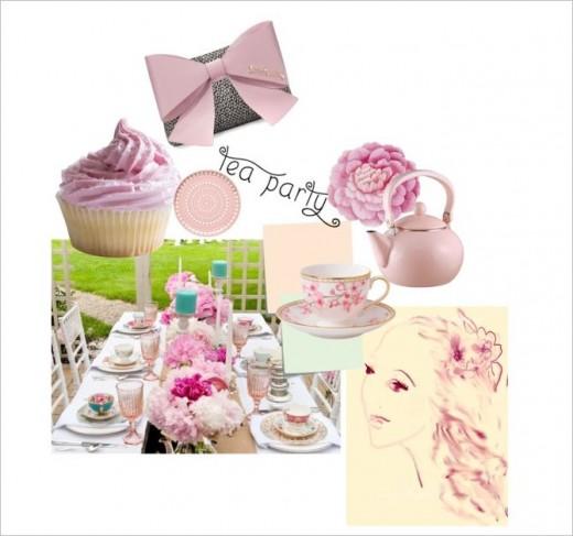 Garden Tea With Friends