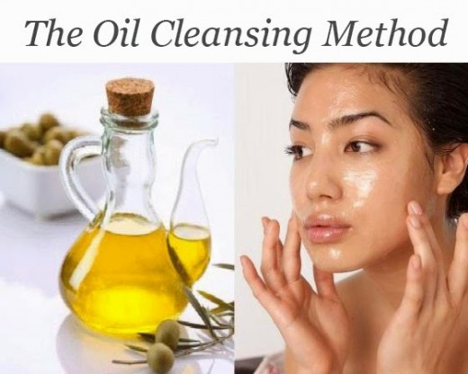 Oil cleansing for brighter skin.