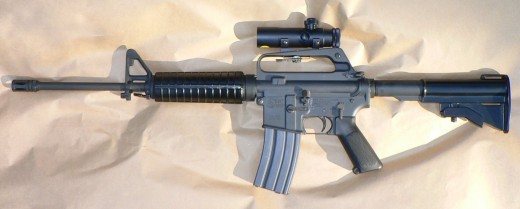 Colt AR-15 semi-automatic assault rifle