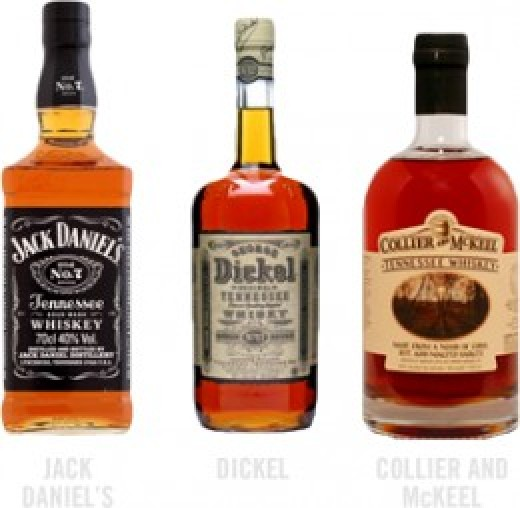 Jack Daniel's, Dickel, Collier and McKeel