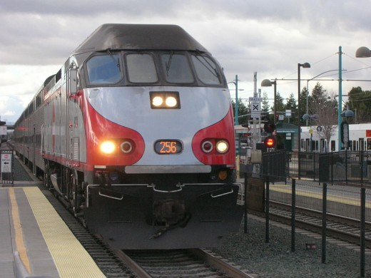 Caltrain at Mountain View