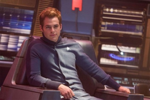 Pine captures Kirk's arrogance to such an extent, it's difficult to imagine him in charge of a starship.