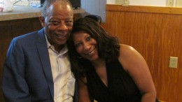 Roseann Stackhouse Williams, class of 1971 along with her husband Maurice Williams.