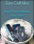 Easy Crafts Melt & Pour Seashell Soaps