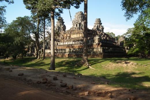 Ta Keo Angkor Cambodia.