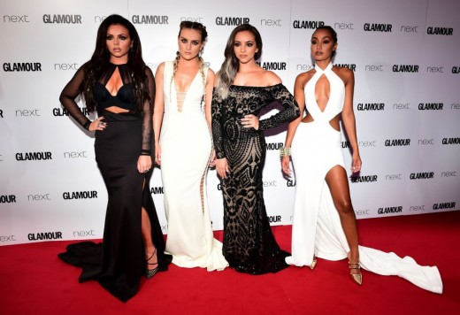 Left to Right: Jesy Nelson, Perrie Edwards, Jade Thirlwall, and Leigh-Anne Pinnock