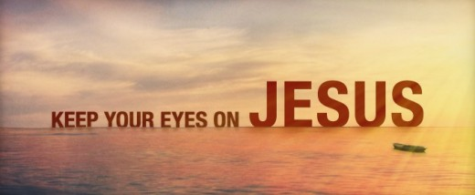 Stay Focused Upon Him!!