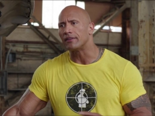 Ladies and gents, The actor formerly known as The Rock