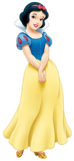 Disney version of Snow White