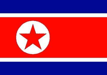 Flag of the North Koreans.