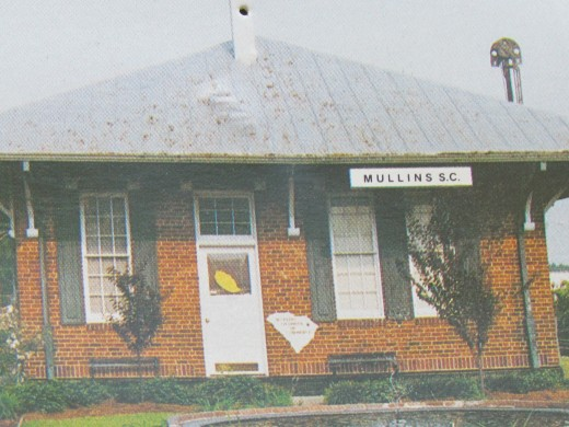 The commerce building that is in the center of downtown Mullins which was there during the demonstrations in the 60's..