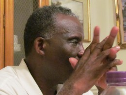 Bishop Ellerby, painfully remembers what occurred when he was beaten and arrested during the demonstrations.