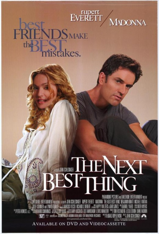 Theatrical poster for The Next Best Thing. Property of Paramount Pictures.