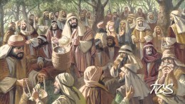 We are capable of 'believing' as Jesus did to accomplish all that he did - and more. Matthew 14: Jesus said, YOU give them something to eat. He was a teacher who was teaching people HOW to take care of themselves no matter WHAT...