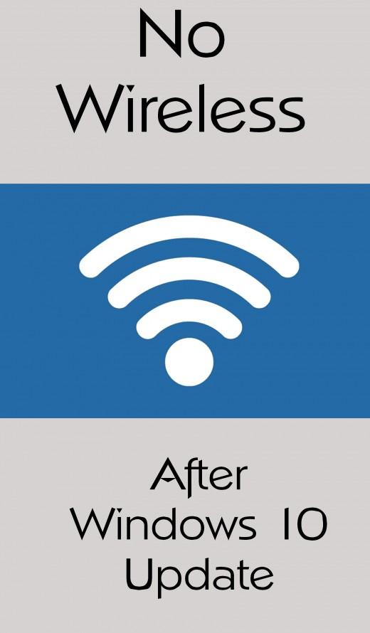 no wi-fi after Windows 10 update