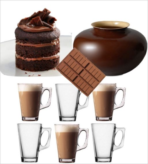 Anytime ideas for chocolate..delicious chocolate!