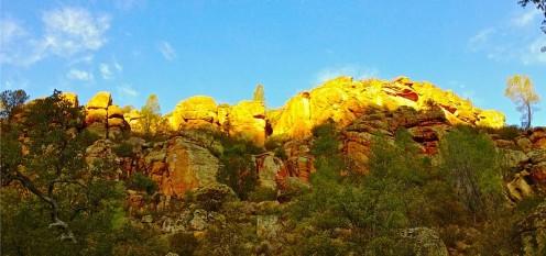 Sunrise at Pinnacles.