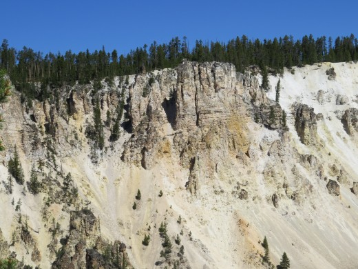 Artists Point in Yellowstone.