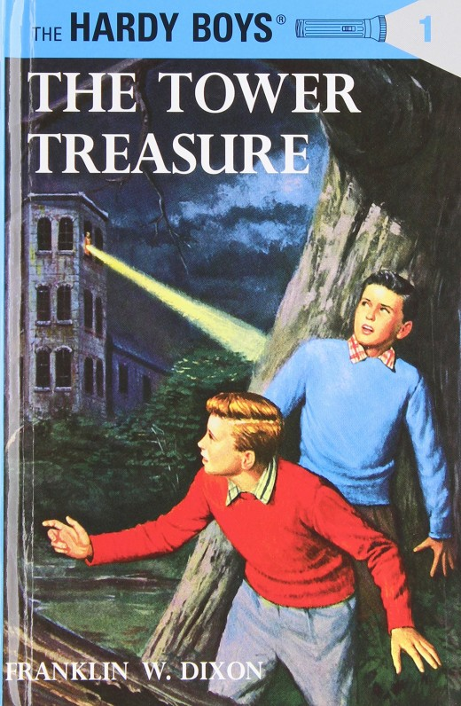 The first Hardy Boys novel