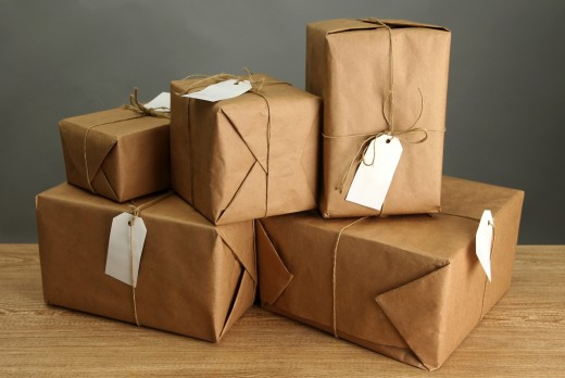 Each parcel should be packed and labeled with care and attention before the shipment