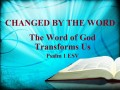 Thanks to the Change By the Word Of God I'm Not What I Used to Be- I used to be.....But Now