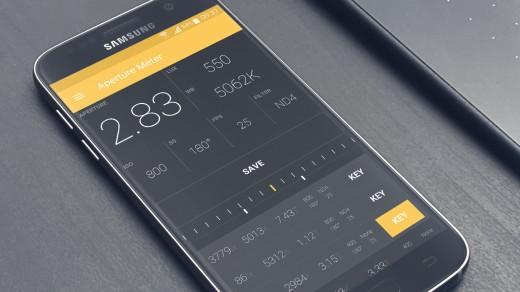 Aperture Meter's UI