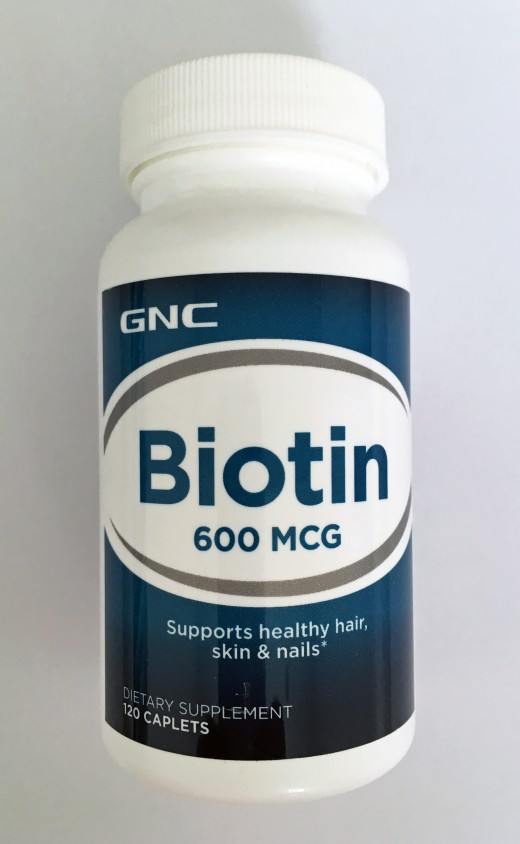 Biotin is known to improve hair health.