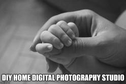 How to Setup a DIY Home Digital Photography Studio on a Budget