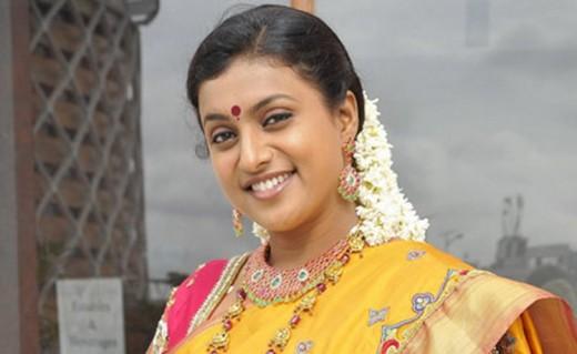 Indian actress Roja