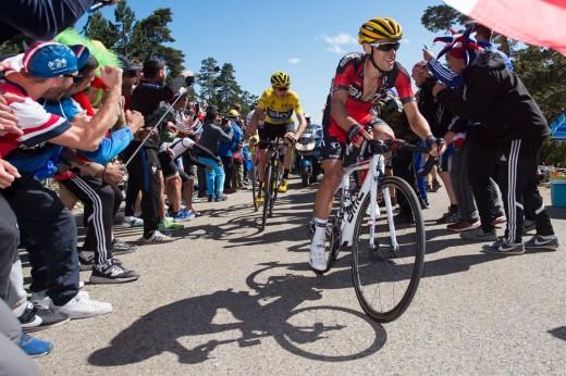 Tour de France 2016 - 014/07/2016 - Etape 12 - Montpellier/ Mont Ventoux (184 km) - PORT Richie (BMC RACING TEAM), FROOME Christopher (TEAM SKY)