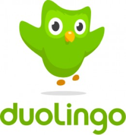 Logo for Duolingo