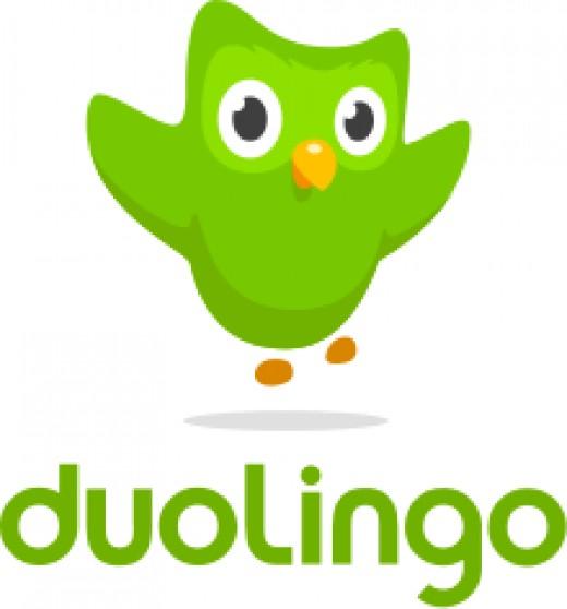 Logo for Duolingo