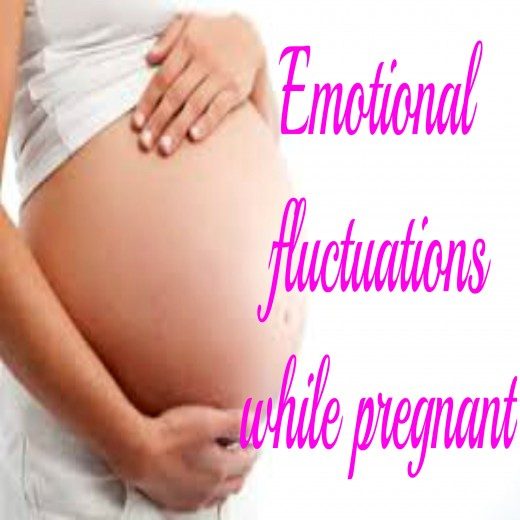 Its normal to have emotional fluctuations while pregnant