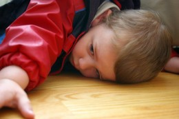 A bored child is likely to interrupt adults