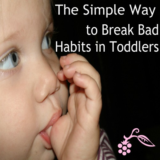 All that really matters is that our toddlers bad habits is all part of growing up.