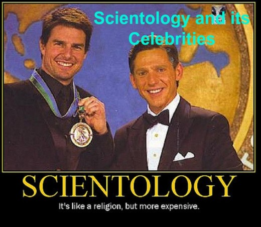 "Tom Cruise receives the ""Freedom Medal of Valor"" from his good buddy, David Miscavige, the Church of Scientology leader."