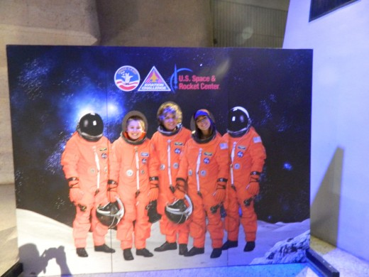 My family of astronauts
