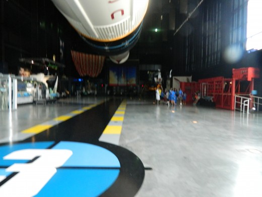 In the Saturn V Building