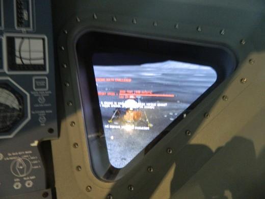 Landing on the Moon simulator