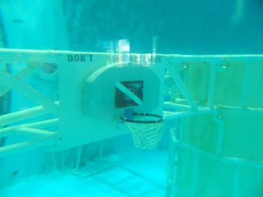 The Space Camp underwater simulator