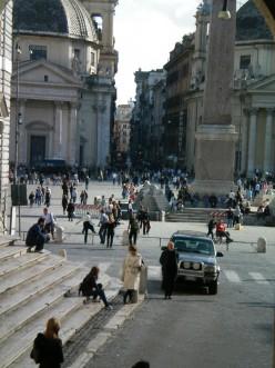 The streets near the Piazza Sant Eustachio, (c) A. Harrison